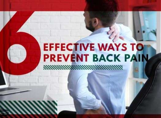 6 Effective Ways to Prevent Back Pain